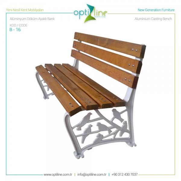 Seating Bench B-16